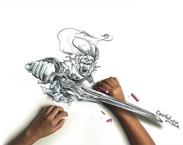 6 incredible amazing drawings