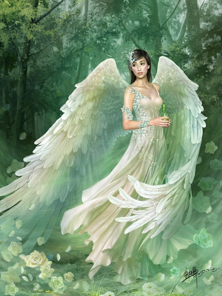 7 angel fantasy art