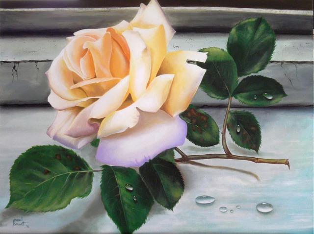 8 acrylic painting