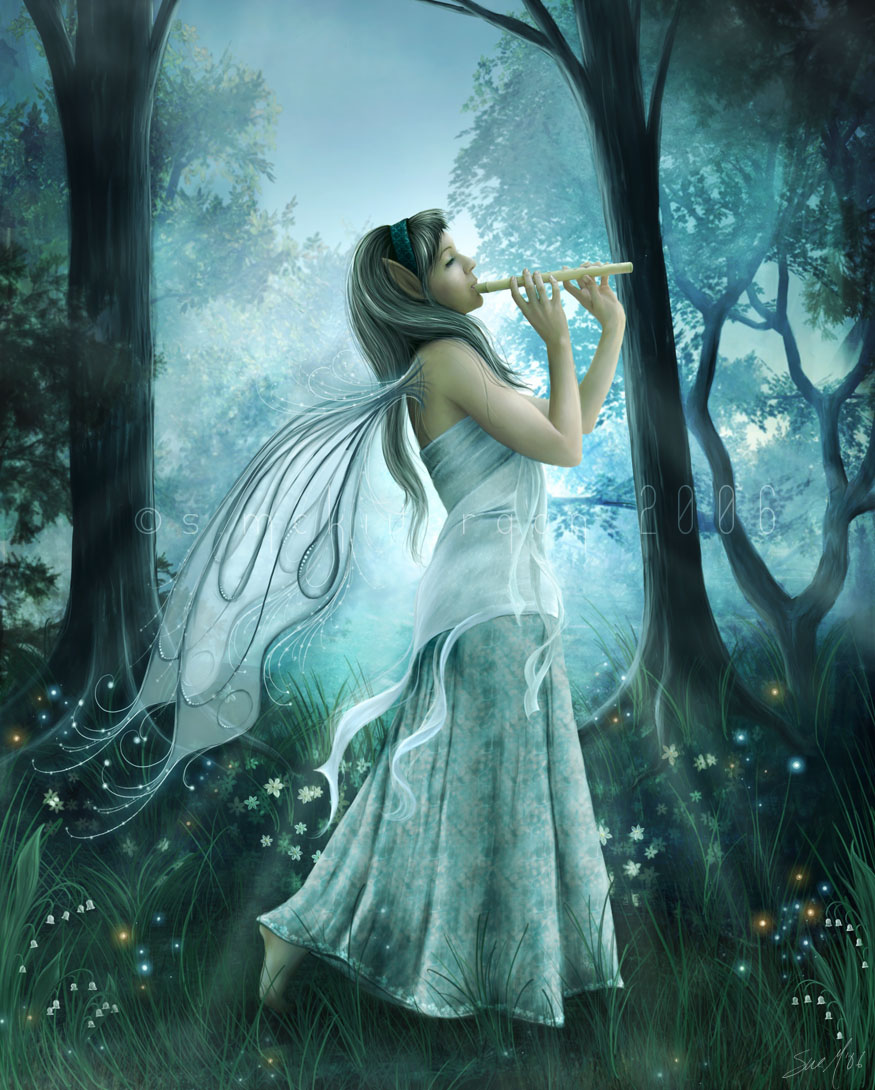 8 beautiful angel fantasy art