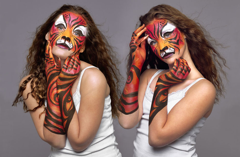 8 body paintings