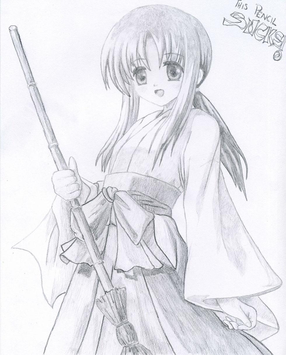 8 manga drawings