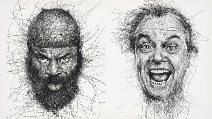 8 scribbles by vince low