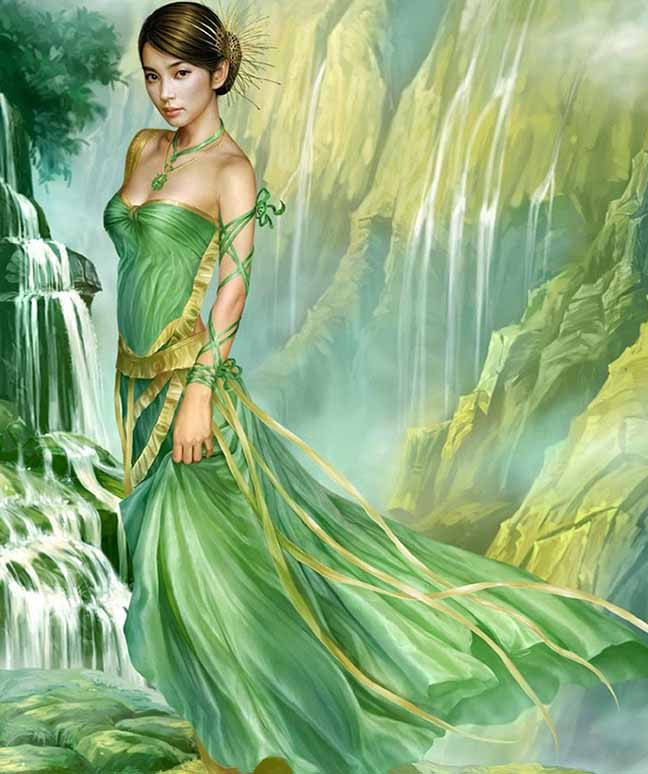 9 beautiful girl fantasy art