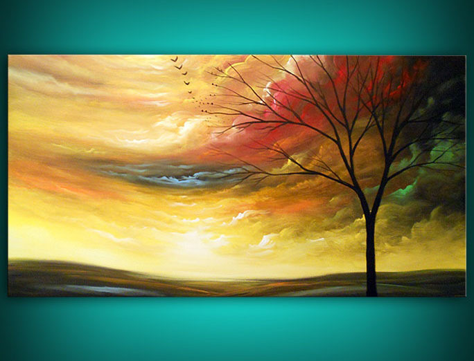 9 beautiful tree painting