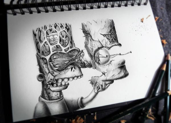 9 creative drawings