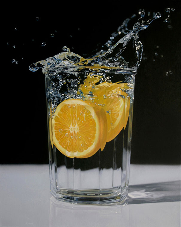 9 realistic paintings
