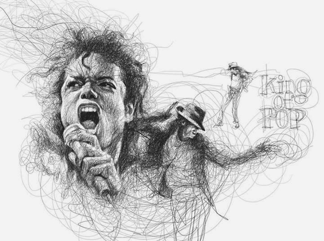 9 scribbles by vince low