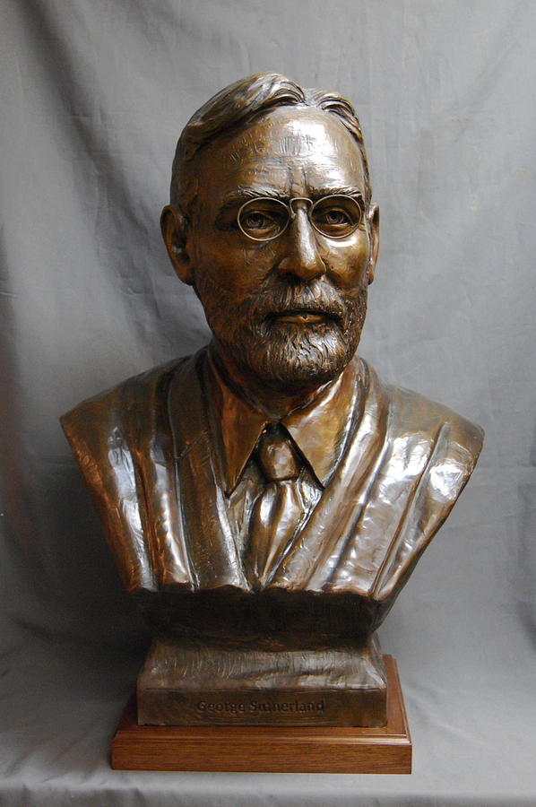 george bronze sculptures