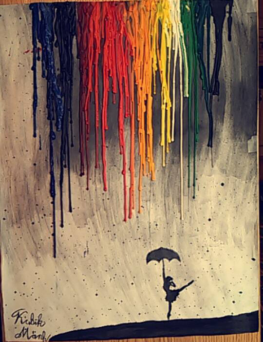 rain painting by kubik mark
