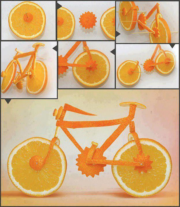 17 fruits diy