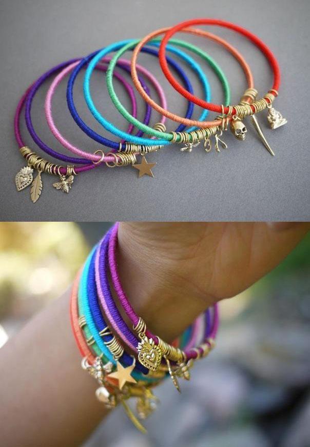 6 bracelets diy