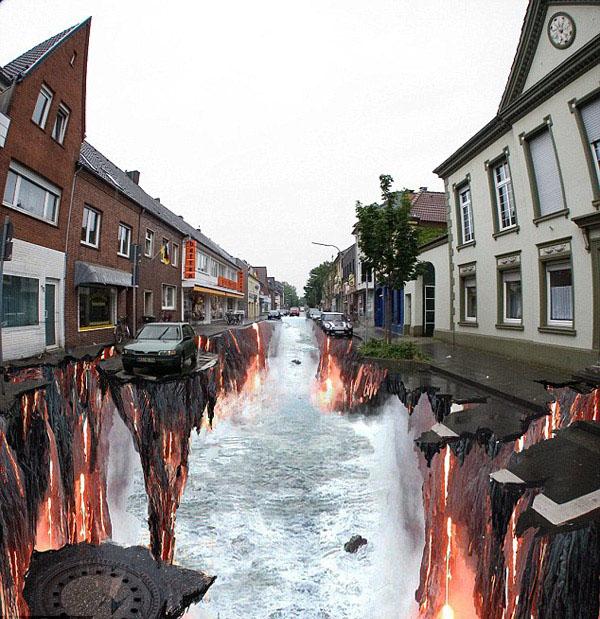 fire street art