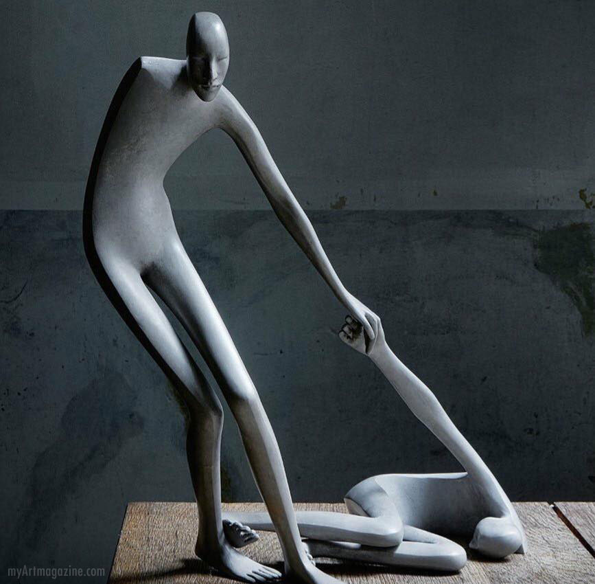 creative bronze sculpture by isabel miramontes