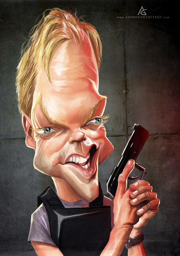 man caricatures anthony
