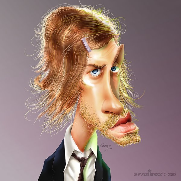 men caricatures anthony