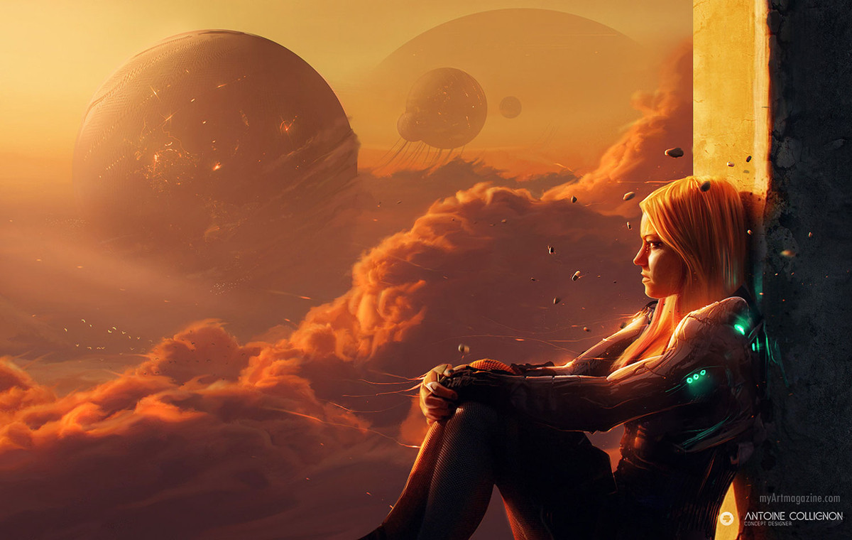 digital painting by antoine collignon