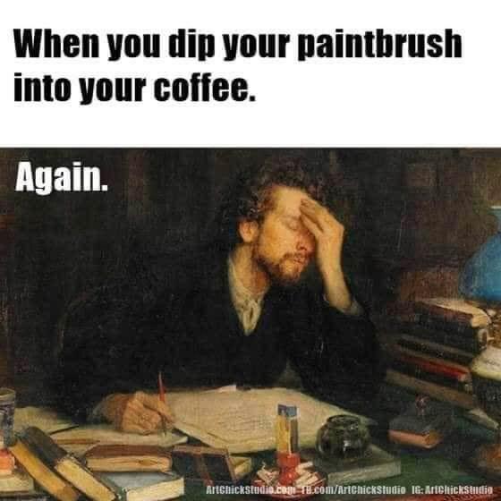funny artist meme
